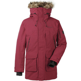 DIDRIKSONS Marcel Parka Herrer, element red
